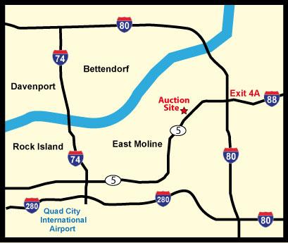 East Moline Map